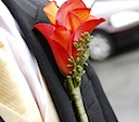 Boutonnières. We can make classic or exotic designs.